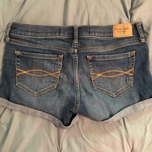 Abercrombie Jean Shorts Size 2